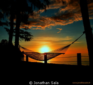 goog night.. sun by Jonathan Sala 